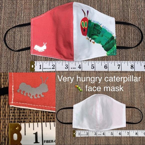 Accessories Teacher Very Hungry Caterpillar Custom Face Mask Poshmark